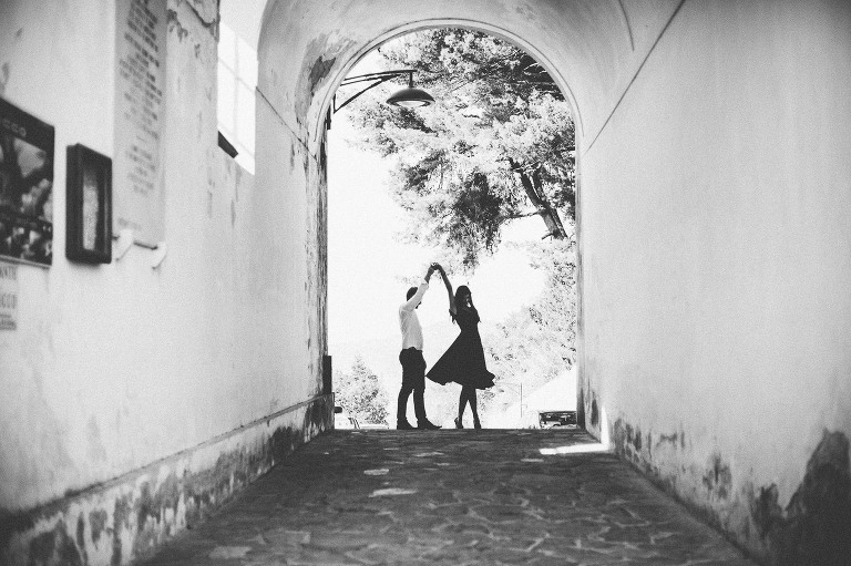engagement shoot France