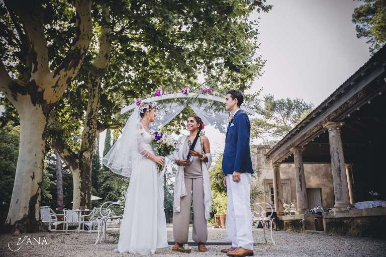 Rustic French Vineyard Wedding Domaine De Gourjo Languedoc Roussillon South France